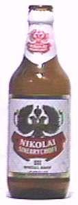 Nikolai bottle by Sinebrychoff