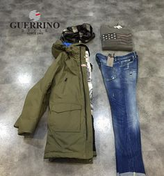 guerrinostyle_#outfitman #fw2015 #tendenzeuomo #dondupjeans #rossignol
