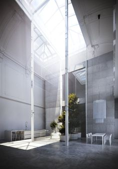 yellowtrace:    Loft in Monza by Piero Lissoni.
