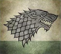 loup House stark winterfell motif pattern