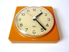 Vintage 1970s Krups of Germany wall clock