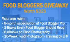 How to Win $325 Giveaway of Food Bloggers Bundle