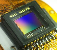 The pros and cons of CCD and CMOS sensors in digital cameras.