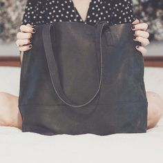#fashionABLEis4 SALE update: the Mamuye leather tote in black has been marked down to $125 (30% off!!!!)