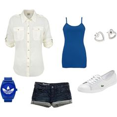 Walk along the beach, created by audrey-niemeyer on Polyvore