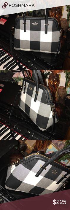 Kate Spade Cedar Street Plaid Maise Purse New Kate Spade Cedar Street Maise $285 kate spade Bags Shoulder Bags