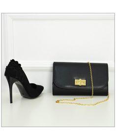 Γυναικεία τσάντα φάκελος μαύρη δερματίνη 029724  γυναικείεςτσάντες  σακίδια   μόδα  τσάντα  γυναίκα 5c87a59d956