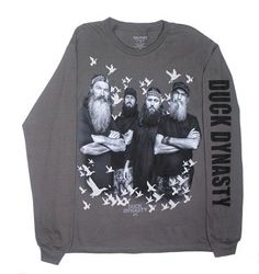 Amazon.com: The Robertsons - Duck Dynasty Long Sleeve T-shirt: Clothing | size adult small