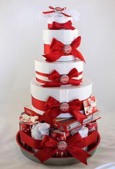"Gift Box ""Cake"". Coca Cola! How cute!!"