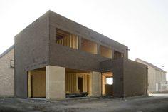 Single Family House in Hever (BE) -- TRAJEKT architectengroep bvba, 2014 (under construction)