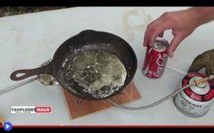"""Esperimento con la Coca Cola e il piombo fuso """"Buongiorno, parlo con Jeff di Taofledermaus, il canale di YouTube con più di 480.000 iscritti? Si, piacere di conoscerti. Apprezziamo molto il tuo lavoro, al punto che vorremmo chiederti un favore.  #scienza #esperimento #bevande #metalli"""