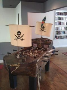 Pirate Foosball!!!!