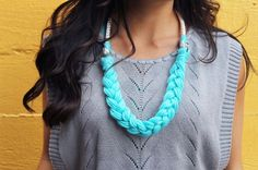 4 Ways to Wrangle Rope Into a Statement Necklace | Brit + Co.