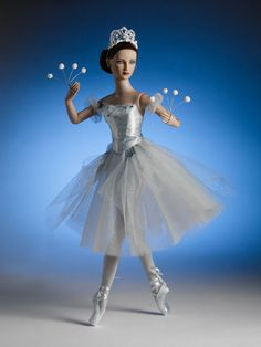 Snowflake - New York City Ballet Collection - Tonner Doll Company Ballerina Barbie, City Ballet, Poppy Parker, Doll Costume, Barbie Costumes, Barbie Collection, Barbie World, Fairy Dolls, Barbie Friends