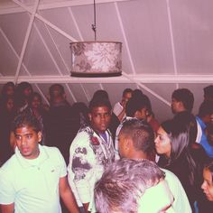 Party upstairs