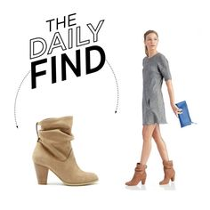 How To Wear The Daily Find Sole Society Slouchy Bootie Outfit Idea 2017 - Fashion Trends Ready To Wear For Plus Size, Curvy Women Over 20, 30, 40, 50