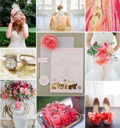 Go Pink!  #wedding
