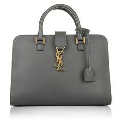 Fashionette wears Saint Laurent YSL Monogramme Box Laque Bag Earth - Business Bag