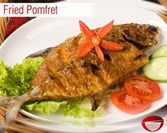 Fried Pomfret - Fried and crispy Pomfret is an excellent dish for lunch or as dinner. Visit: www.bestdesifood.com