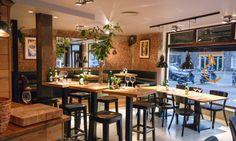 Wining & Dining bij Thirty5ive aan het Javaplein in Amsterdam Oost. Dé perfecte plek voor een borrel of een uitgebreid diner.
