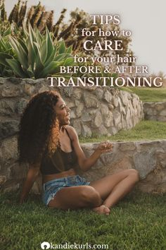 Here are 15 tips for not only how to transition from relaxed to natural hair successfully but also how to care for your hair after transition. Click here to read all and bonus content! #transitioning #bigchop #tips #journey #howto #natural #hair #curly #relaxed #regimen #routine #products #moisture #care Natural Hair Care, Natural Hair Styles, Hair Facts, Healthier Hair, Big Chop, Fine Hair, Hair Products, Hair Growth, Curls