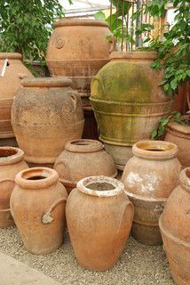 Antique Pottery - traditional - porch - santa barbara - by Eye of the Day