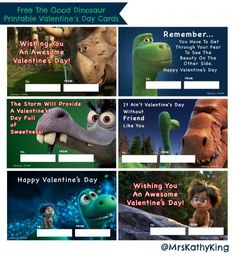 Click on the Image to download your Free The Good Dinosaur Printable Valentine's Day Cards Here's a set of Free The Good Dinosaur Printable Valentine's Day Cards. For the best result print them out on a card stock paper of 50 – 60 lb. photo paper. However, if you use photo paper you would have …
