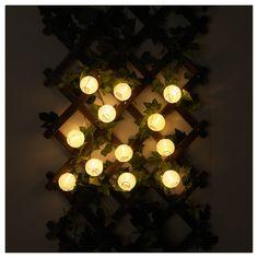 SOLVINDEN διακόσμηση για γιρλάντα φωτισμού, 12 τεμ. - IKEA