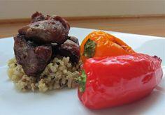 Little Mommy, Big Appetite: Pork Tenderloin and Mini Sweet Pepper Kabobs