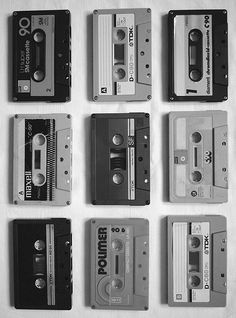 **Cassette Tapes..man I wish I could have born earlier and used these...