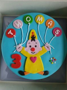 Bumba cake Boy Birthday, Birthday Parties, Cookie Cake Birthday, Cake Smash, Cake Cookies, No Bake Cake, Fondant, Party Themes, Cake Decorating