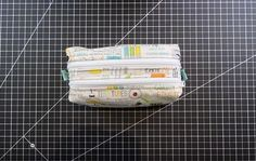 Double Zipper Pouch Sewing Tutorial from artsandcrafts4u