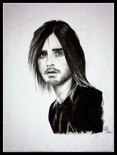 """Jared Leto"" drawing by Rude Mleko"