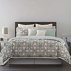 image of Real Simple® Camille Reversible Duvet Cover