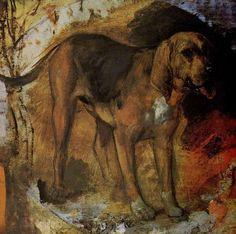 Pre Raphaelite Art: William Holman Hunt - A Bloodhound