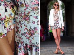 """how to mix floral prints. from """"a pair & a spare"""""""