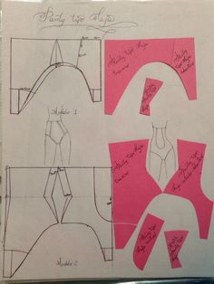 Underwear Pattern, Bra Pattern, Pants Pattern, Pattern Books, Pattern Cutting, Pattern Making, Sewing Hacks, Sewing Tutorials, Old Bras