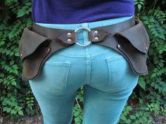 Leather Garden Belt от WheelerMunroe на Etsy
