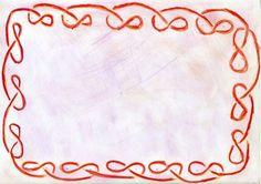 Waldorf ~ 4th grade ~ Form Drawing ~ main lesson book