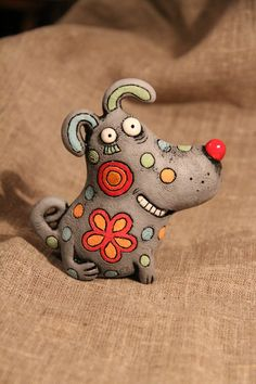 Pottery Animals, Ceramic Animals, Clay Art Projects, Clay Crafts, Ceramic Clay, Ceramic Pottery, Sculpture Lessons, Paper Mache Sculpture, Pottery Tools