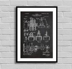 Marinediesels crankcase explosions in marine diesel engines diesel engine patent diesel engine poster diesel engine blueprint diesel engine print combustion engine mechanic gift auto decor malvernweather Choice Image