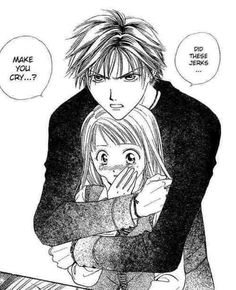 Let's face just about any girl would love to have a guy step in and glower at people who are messing with her. Trust me boys chivalry and standing up for a girl will never go out of style. Absolute Boyfriend/Zettai Kareshi