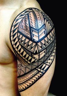 polynesische maori tattoos mann oberarm schildkroete chillig pinterest tattoo vorlagen. Black Bedroom Furniture Sets. Home Design Ideas