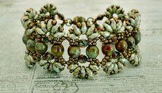 Farfalle Bracelet by Deborah Roberti - Beads Only - From Linda's Crafty Inspirations Blog