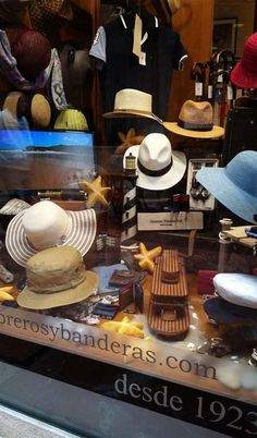 Mar y Sombreros Cool Hats, Outdoor Woman, Retail, Nice, Store, Clothes, Fashion, Berets, Sombreros