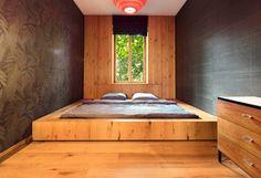 Bett selber bauen für ein individuelles Schlafzimmer-Design_diy eingebautes bodenbett