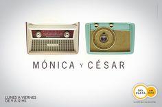 Radio gezicht // Radio Del Plata AM 1030: Monica & Cesar