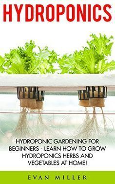 Hydroponics: Hydroponic Gardening For Beginners - Learn How To Grow Hydroponics Herbs and Vegetables At Home! (Aquaponics, Urban Gardening) by Evan Miller http://www.amazon.com/dp/B01BPLNK4K/ref=cm_sw_r_pi_dp_XQjWwb09R44MV #HydroponicsGardening #hydroponicgardenhowto