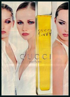 1990s Hola Hispanic Ad Gucci Perfume Print Ad Pretty Model Large Perfume Ad   eBay