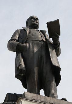 McKinley Statue at McKinley Presidential Memorial in Canton.